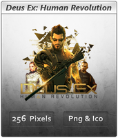 Deus Ex 3 HR - Icon 4 by Crussong
