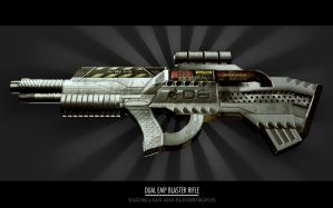 Dual Emp Blaster Rifle by RaZorCleaN