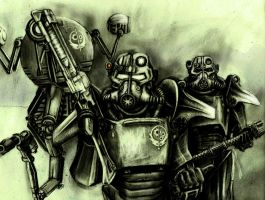 Fallout Brotherhood of steel by HrvojeSilic