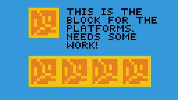 The Block for my upcoming game! by Pixel0t