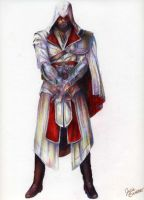 Assassin's Creed: Brotherhood Ezio by KHArt08