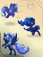 [MLP:FiM] Princess Luna by Tomat-in-Cup