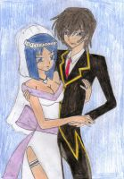 .: Just Married:. by thebigblackdevil5