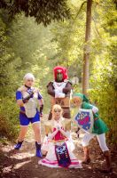 Team Ocarina of time by ChiseLuneth