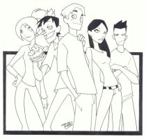 sketchy : Riverdale by KidNotorious
