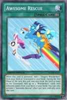 Awesome Rescue (MLP): Yu-Gi-Oh! Card by PopPixieRex