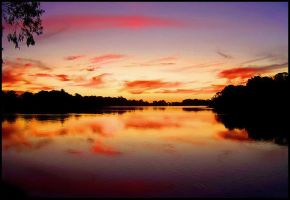 renmark sunset by elementality