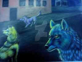 Night Stalkers Detail by chezarawolf