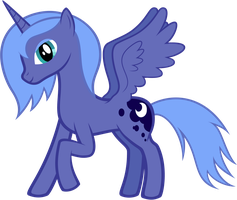 Just some blue pony by Trildar