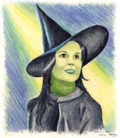 Elphaba--SJB by Moundfreek