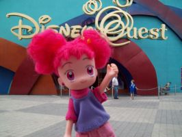 Doremi at DisneyQuest by Prettywitchaibou