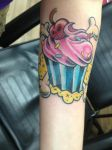 Tattoo - Cupcake by KMKramer44