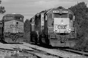 The SD40-2 and a GEVO by jhg162