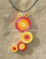 Quilling pendant 2 by OmbryB