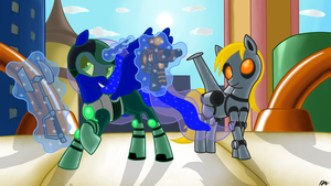 Gamer Luna: Ratchet and Clank Style by CrazyMacYo