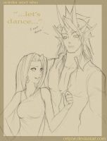 Adella and Sho: Let's Dance by celyne