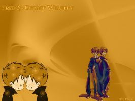 Fred And George Weasley by Marvolo-Kun