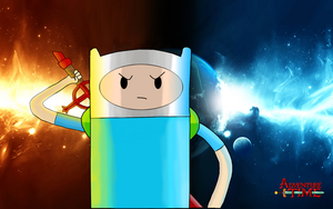 Finn The Human!! by MakinBaconPancakes