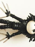 Edward Scissorhands in clay by TimBurtonFan11