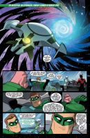 Green Lantern TAS 8 Page 1 by LucianoVecchio