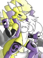 :::Renamon::: by Reagan700