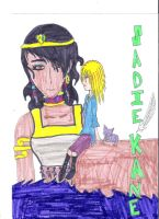 Sadie Kane and Isis by JessicaL98000