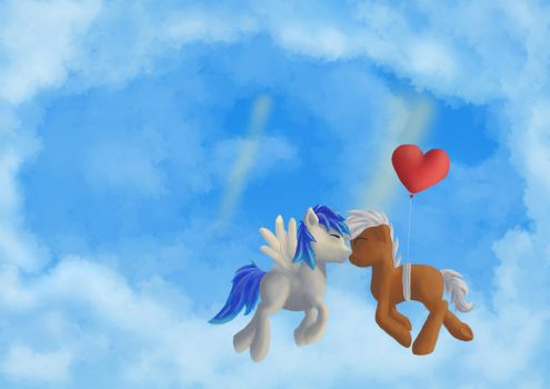 Sky of love by MasterVule