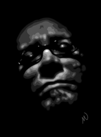 30 Day Challenge, Day 1, Self-Portrait by armageddon