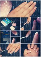 French Manicure Nail Art Tutorial by friabrisa