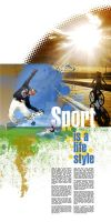 Sport is a life style by buzveatesh