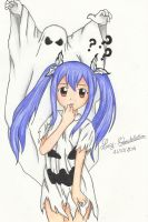A Ghost behind me !? by Lucy-Constellation
