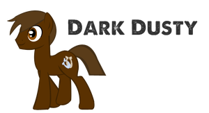 My new Earth Pony OC Dark Dusty by LR-Studios