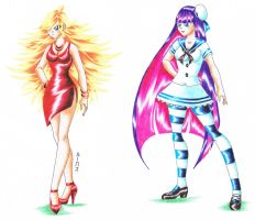 Panty and Stocking 2 by LukaszMuzial