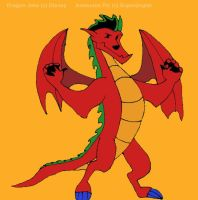 The American Dragon by superdoglac