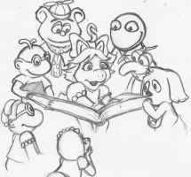 Muppet Babies by Dont-lose-heart