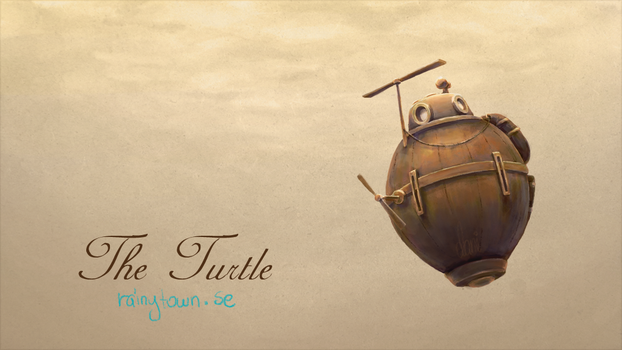 The Turtle - Submarine Through Time by rainytown