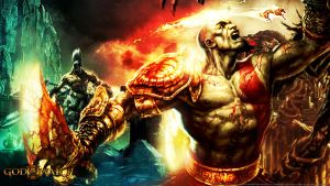 God of War III wallpaper by De-monVarela