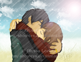 ++ Kain and Alec Kiss ++ FIN by Sunny-Showers