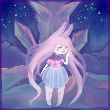 Bunny Space by marpie