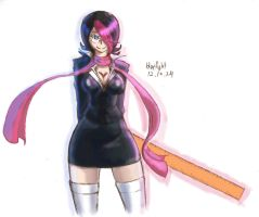 lol Fiora Laurent lol color by bluelightt