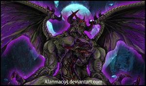 | Zorc , The Creator God of Darkness (Artwork)| V2 by ALANMAC95