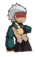 Phoenix Wright - Godot by desfunk