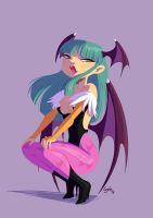 Miss Morrigan by lujus