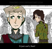 SPN and FROZEN: It just can't, Sam! by Usagiko-JOvi