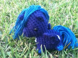 Princes Luna amigurumi by ChronicReverie
