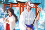Fox Spirits - Dedication to Fushimi Inari by s-girl