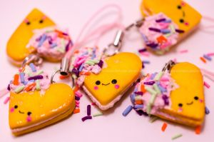 Heart Sprinkle Charms by stereometric