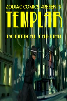 TEMPLAR Issue 1 Front Cover by ConfidentialReporter