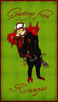 GRUSS VOM KRAMPUS EVERYBODY by XxDaimonxX