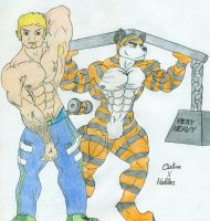 Calvin X Hobbes by Tails-N-Doll